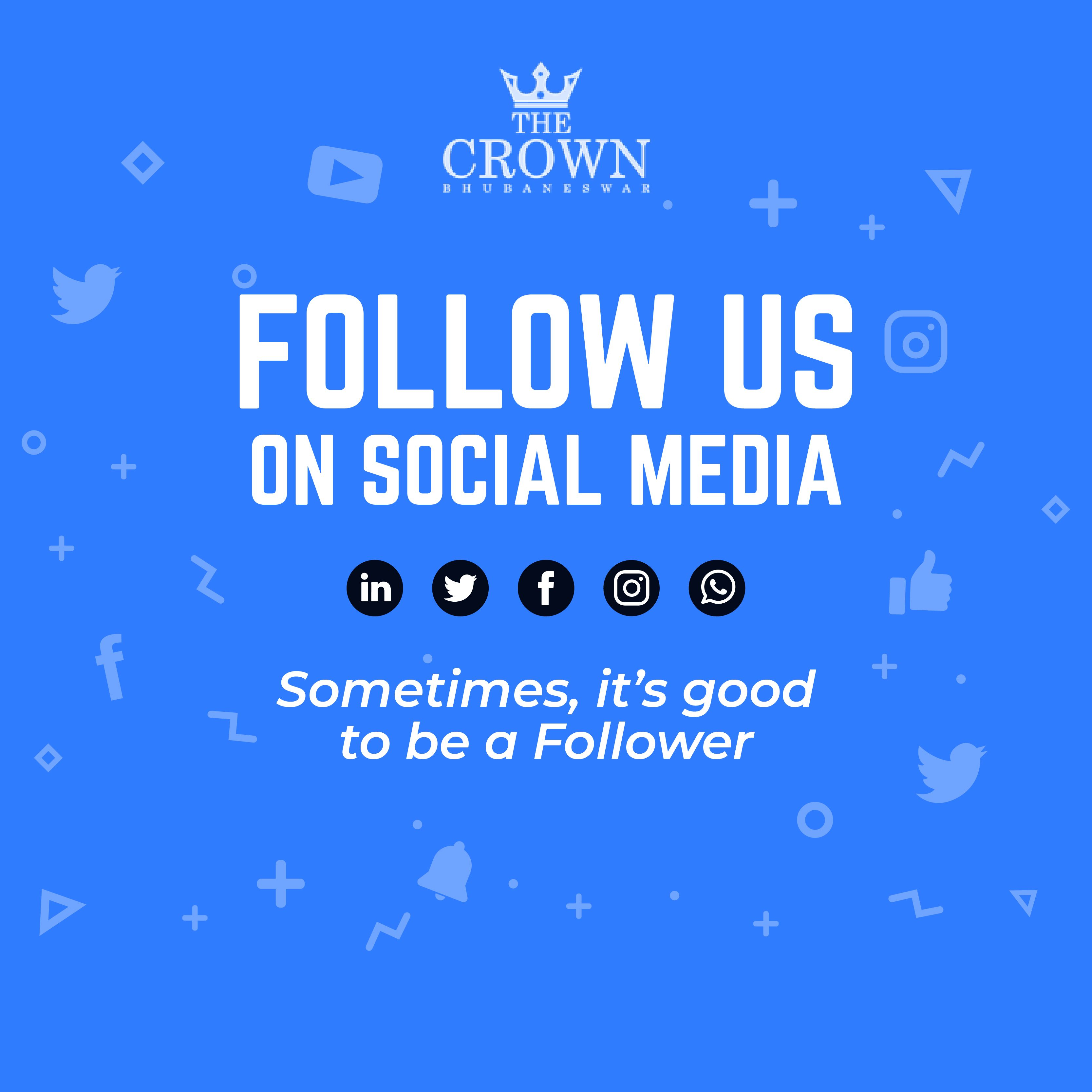 Our Social Media handles are the constant communication channel for travelers looking for details about our services. Visit- www.thecrown.in #bhubaneswar #bhubaneswarhotels #thecrownhotel #odisha #odishatoursim #bhubaneswartourism