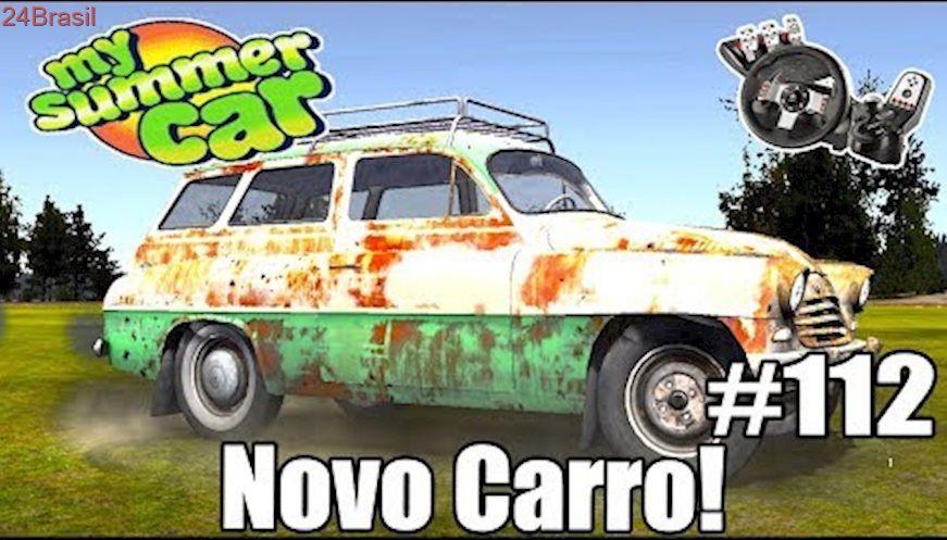 My Summer Car - TESTEI O NOVO CARRO! (G27 mod) | Video