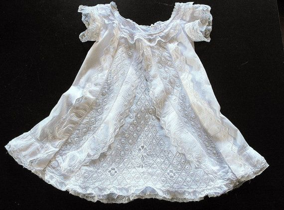 Vintage French Baby Dress Reserved For Jennifer Exquisite And