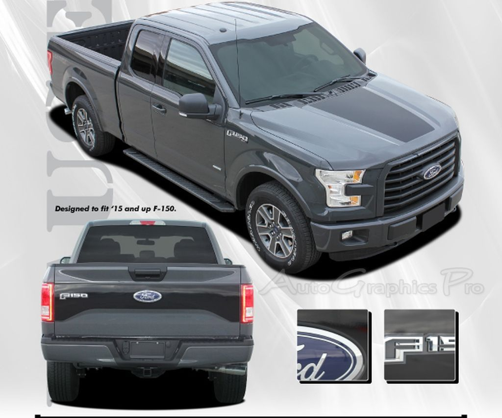 2015 2016 ford f 150 racer hood and tailgate factory roush style