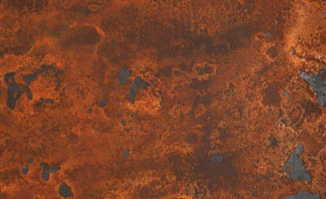 Enduit Decoratif Pure Metal Procede De Metallisation A Froid Peinture Effet Rouille Enduit Decoratif Interieur Decoration Naturelle