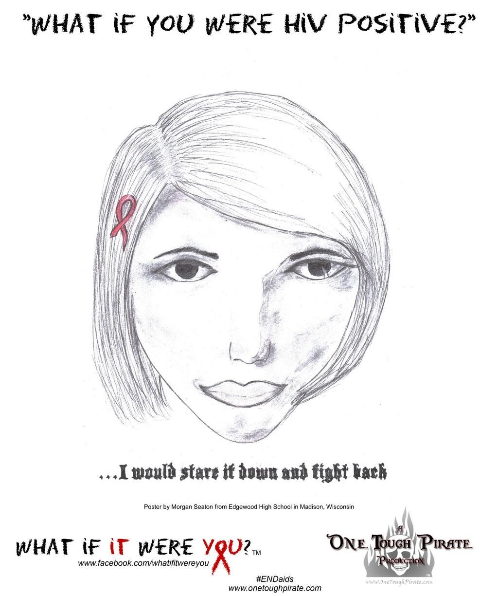 Pin On Youth Hiv Aids Awareness Posters What If It Were