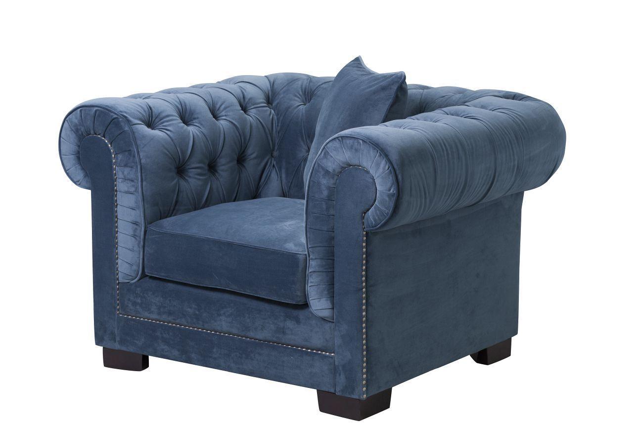 Zwarte Barok Stoel : Fauteuil chesterfield classic velvet midnight fauteuils