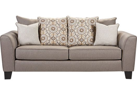 Picture Of Bridgeport Taupe Sofa From Sofas Furniture