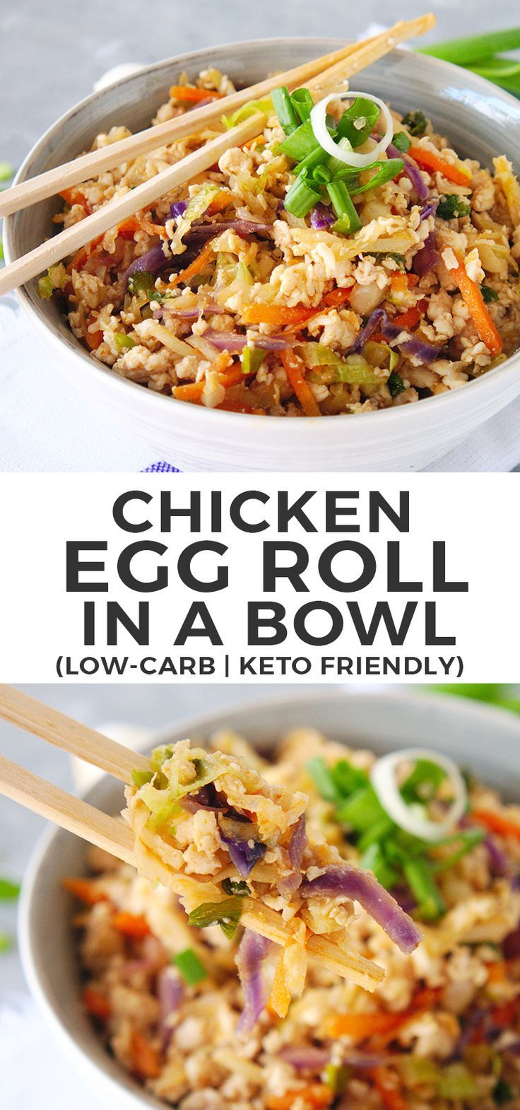 Egg Roll In A Bowl Keto | Egg Roll In A Bowl