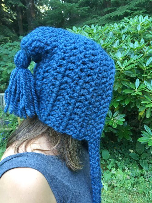 Get Your Whimsy On Free Pixie Hat Crochet Pattern Hat Crochet