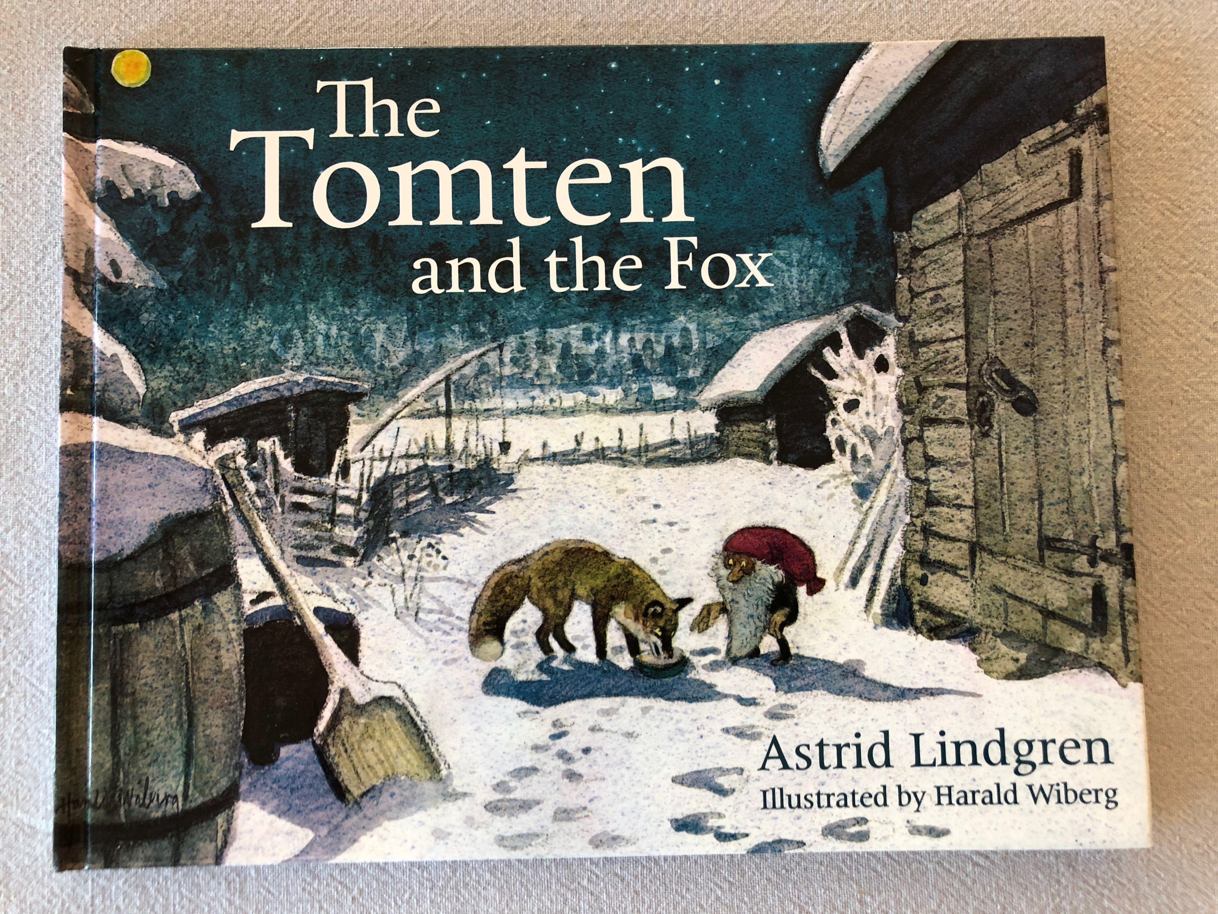 The Tomten And The Fox By Astrid Lindgren Julbocker Barnbocker Julbilder