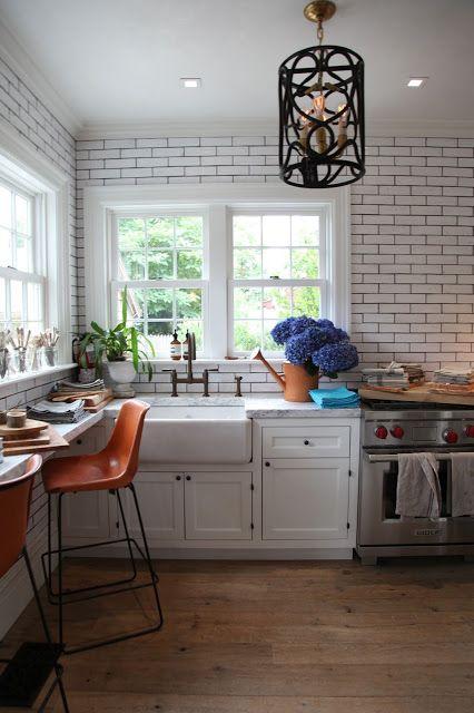 Pin de Kimmi Riddle en For the Home Pinterest Ladrillos blancos