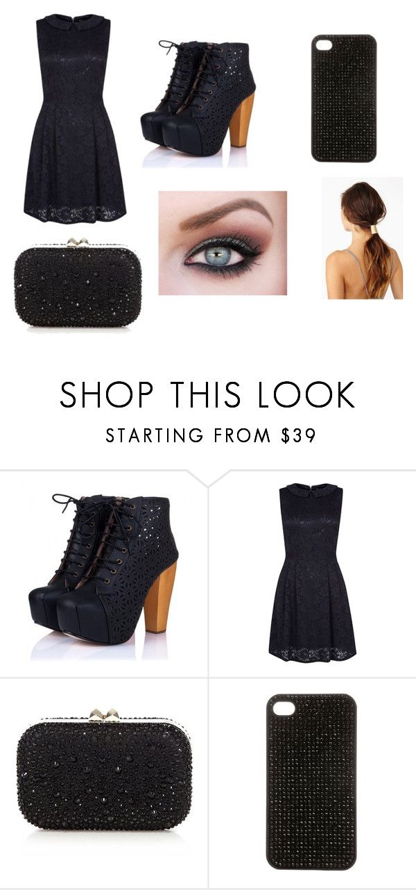 """""""Outfit 1"""" by directioner1608 ❤ liked on Polyvore featuring Anja, Mela Loves London, Karen Millen and LUA"""