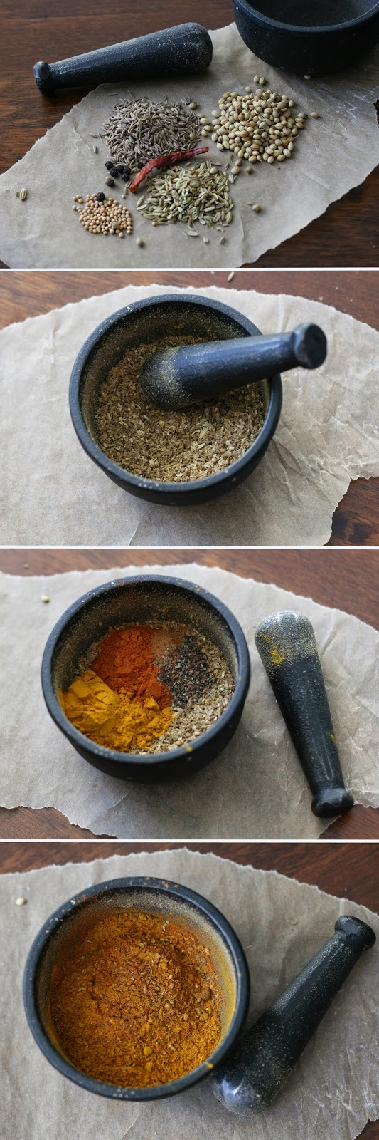 Homemade curry spice mix- by Maikin mokomin