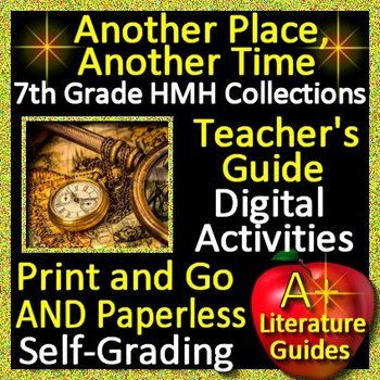 Another Place Another Time Teaching Unit For 7th Grade HMH