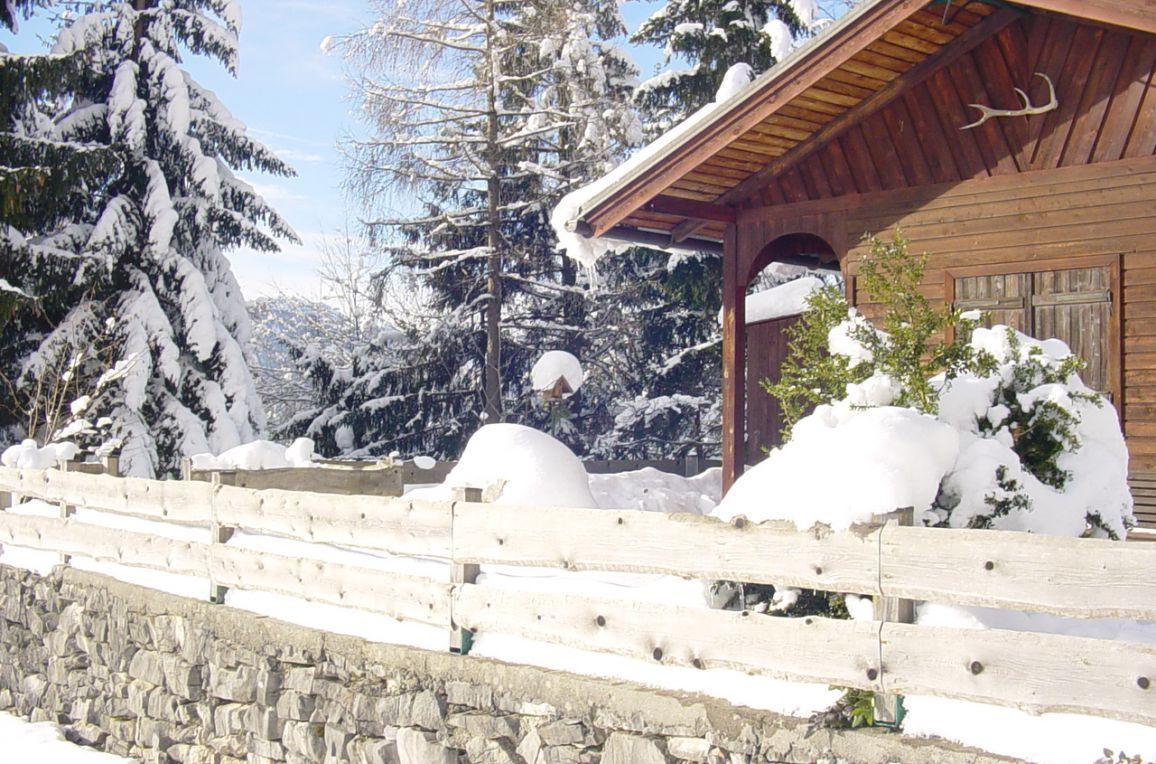 Kappacher Hütte, Winter
