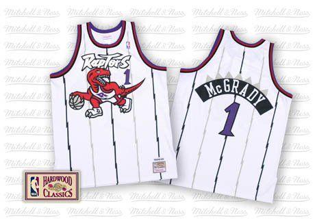 promo code 97114 5f046 Toronto Raptors 1998 Home Jersey – Tracy McGrady | Jerseys ...