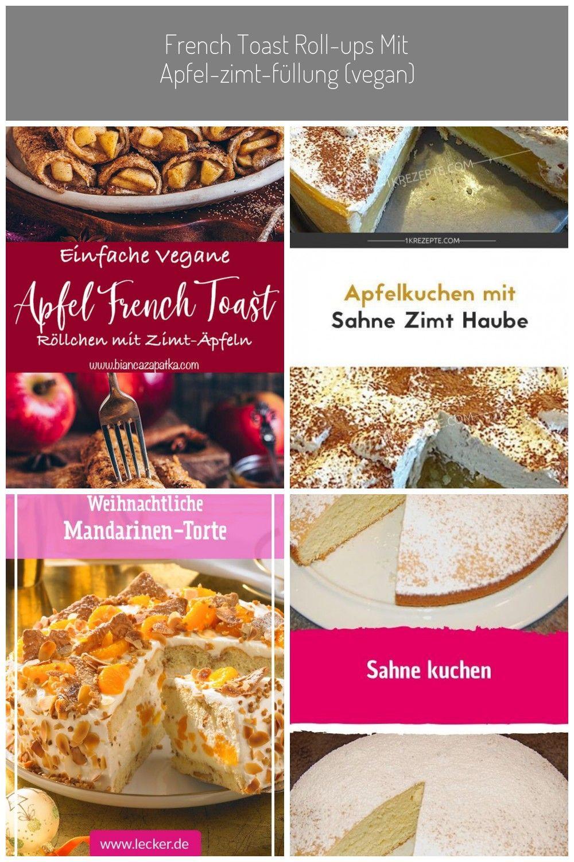 Diese Apfelkuchen French Toast Roll-Ups sind vegan, mit einer leckeren Apfel-Zimt Füllung und werden knusprig im Ofen gebacken. Sie sind in nur 20 Minuten fertig und schmecken warm am Besten. Perfekt zum Frühstück, als Dessert oder einfachen Snack. #crepes #vegan #veganerezepte #pfannkuchen #rezepte #essen #äpfel #zimt #frenchtoast #backen #lecker #dessert | biancazapatka.com #apfel dessert French Toast Roll-Ups mit Apfel-Zimt-Füllung (vegan) - Bianca Zapatka | Rezepte #frenchtoastrollups