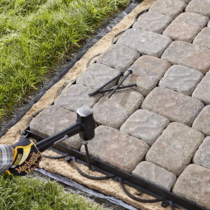 How to calculate materials and install a paver patio ...