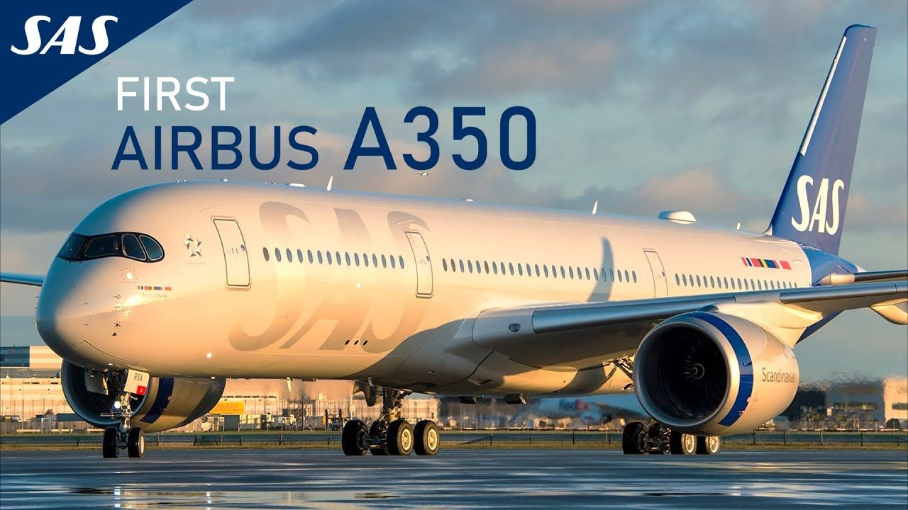 New Sas Airbus A350 900 Cabin And Aircraft Reveal Youtube In 2020 Sas Airlines Airlines New Aircraft