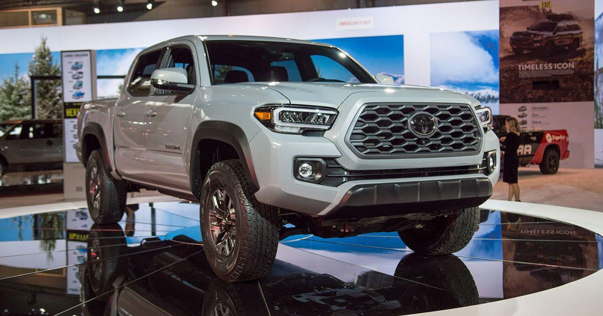 2020 Toyota Tacoma Is The Same Ol Truck With Much Better Tech Cnet 2020 Toyota Tacoma Is The Same Ol Truck With Much Bett With Images Toyota Tacoma Tacoma Cars Near Me