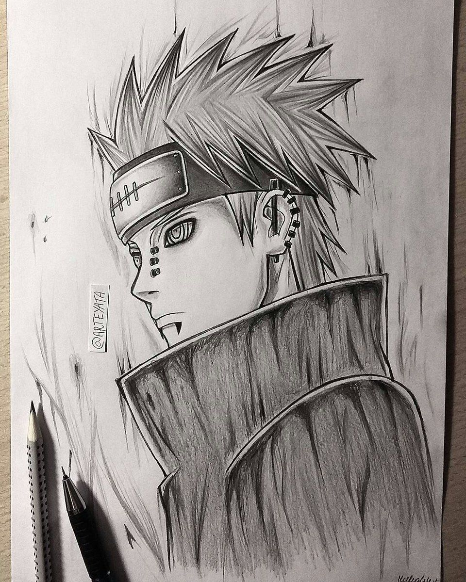 Arteyata On Draws Naruto Manga Anime