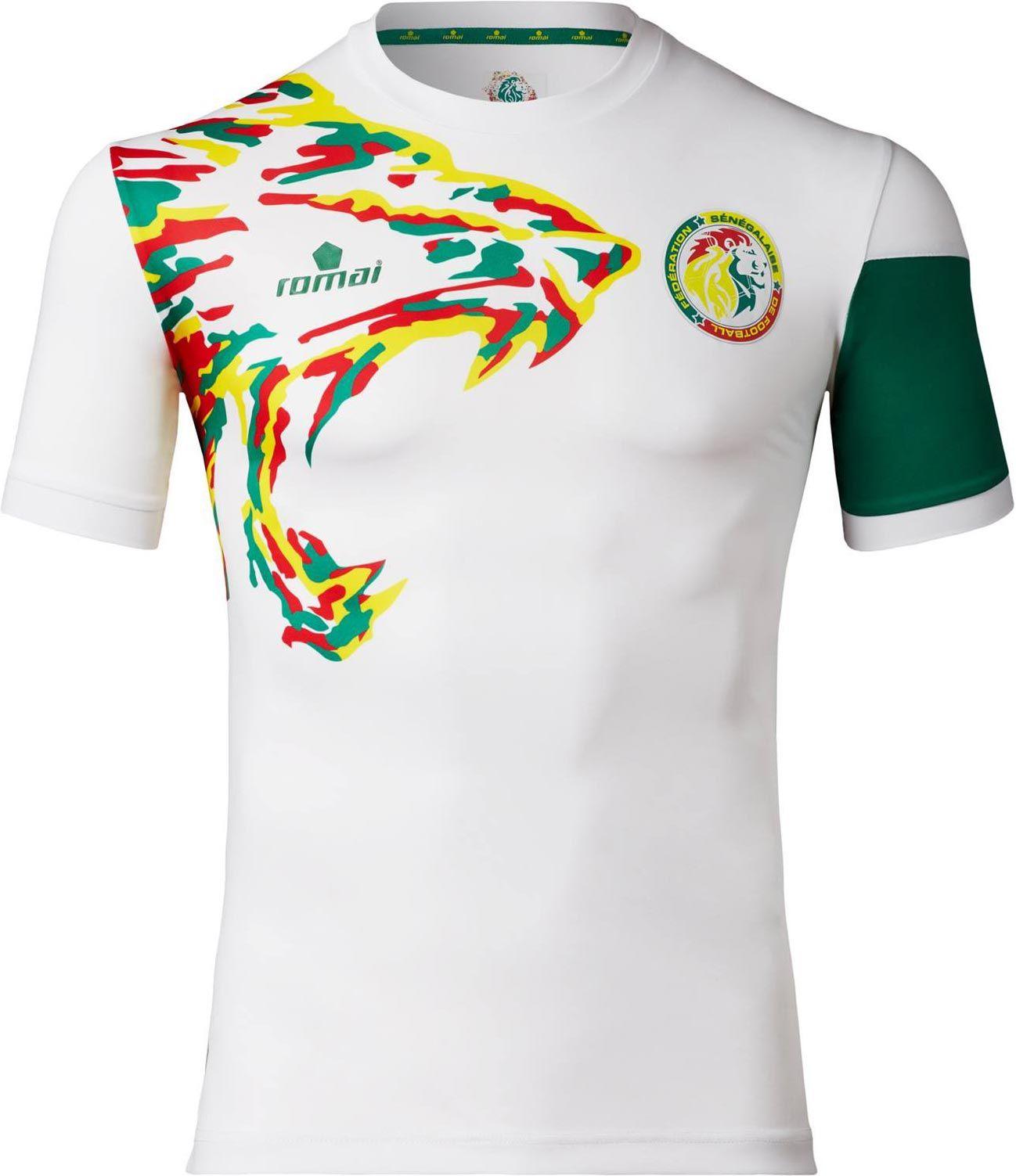 Senegal home 2017 Mejores Camisetas 9ca8eab809d