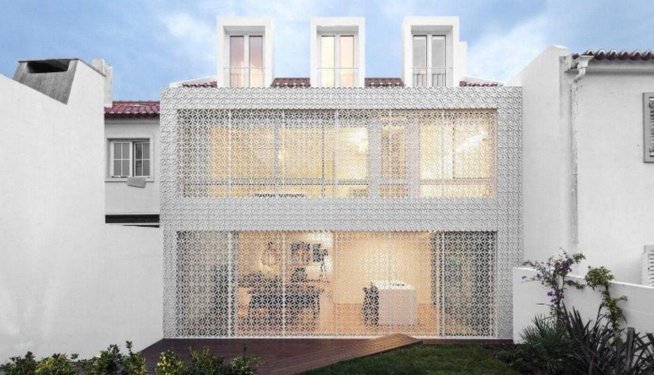 Rénovation originale pour une maison de deux étages au Portugal - construire sa maison 3d