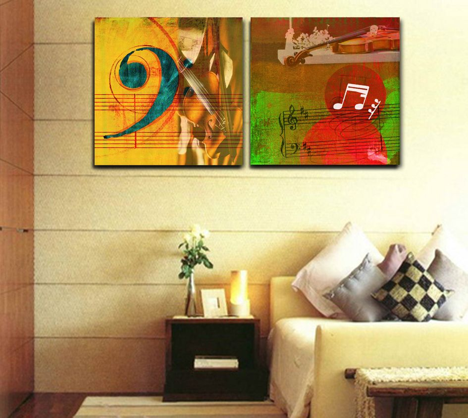 using piano music sheets in canvas art - Google Search | Easy Piano ...