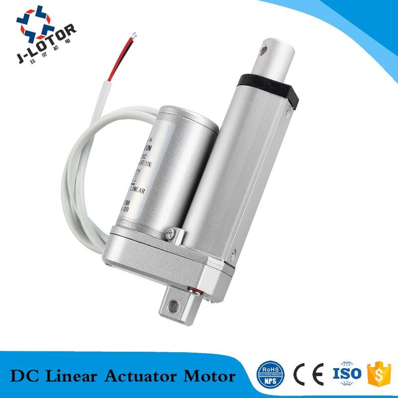 Wholesale 100mm Linear Drive Motor 12v Strong Thrust Electric Actuator Linear Motor For Windor Mot In 2020 Linear Actuator Actuator Electricity