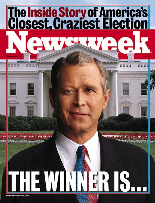 In The Closest Craziest Election In History Al Gore Conceded The