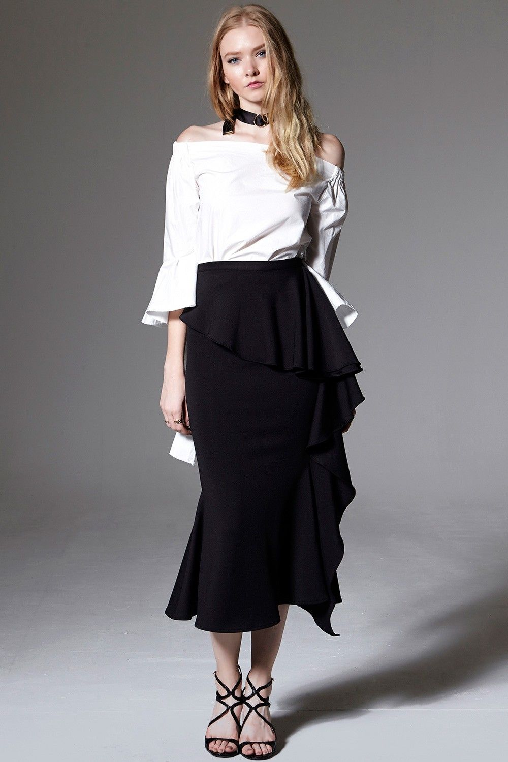 Anna tulip long skirt discover the latest fashion trends online at