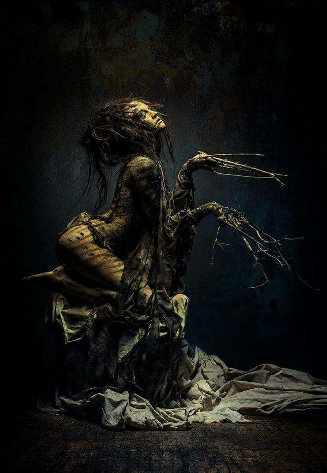 Her life grew like dark roots into the soil of me... and began to shake my earth until my voice became as thunder... xo