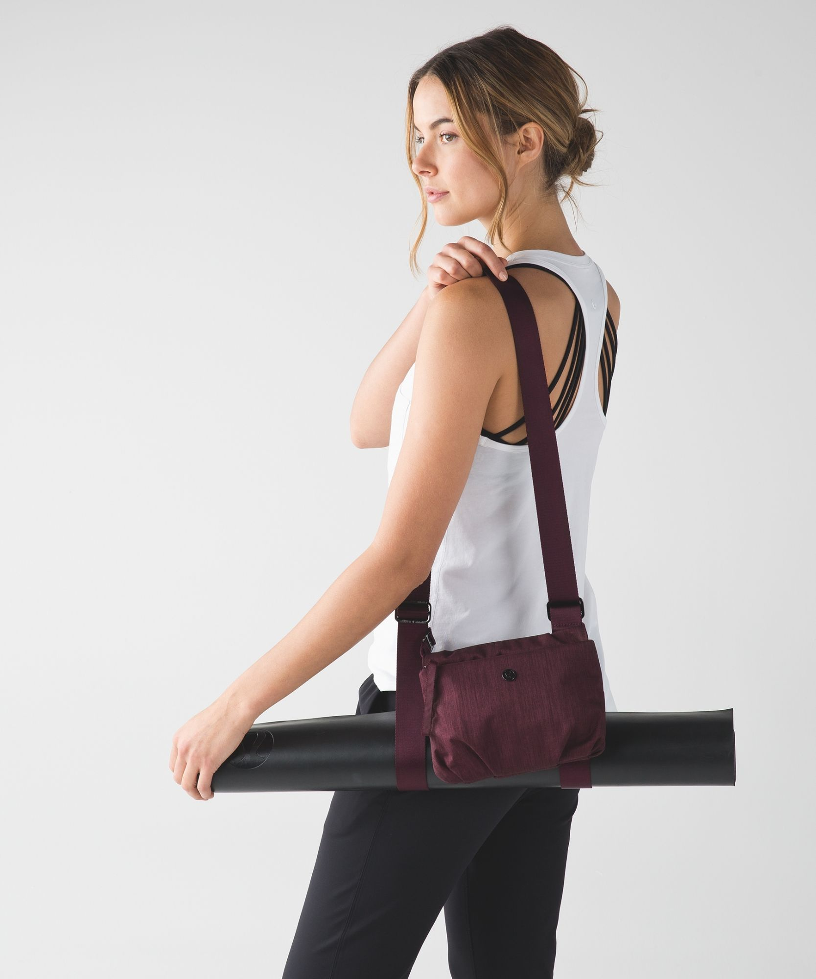 Yoga Mat Bag Essential Mat Carrier Lululemon Lululemon Women Workout Attire Lululemon