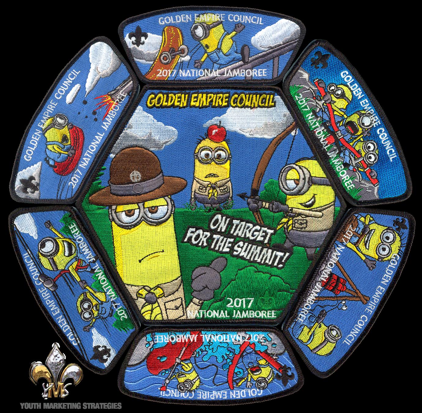 Boy Scout Jamboree Patch