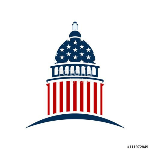 Download The Royalty Free Vector American Capitol Logo Vector Graphic Design Designed By Fotolia365 At The Photographer Portfolio Marketing Capitol Building