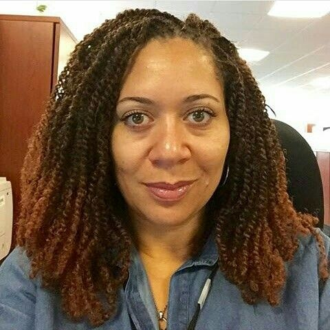 You Would Never Guess What Makes This Faux Locs Protective Style So
