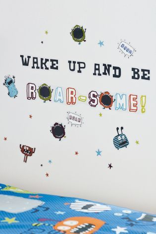 buy monsters wall stickers from the next uk online shop | kids rooms
