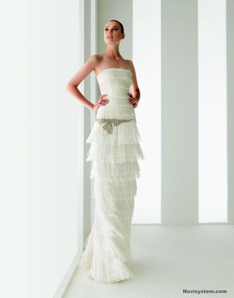 Vestidos de novia tipo charleston