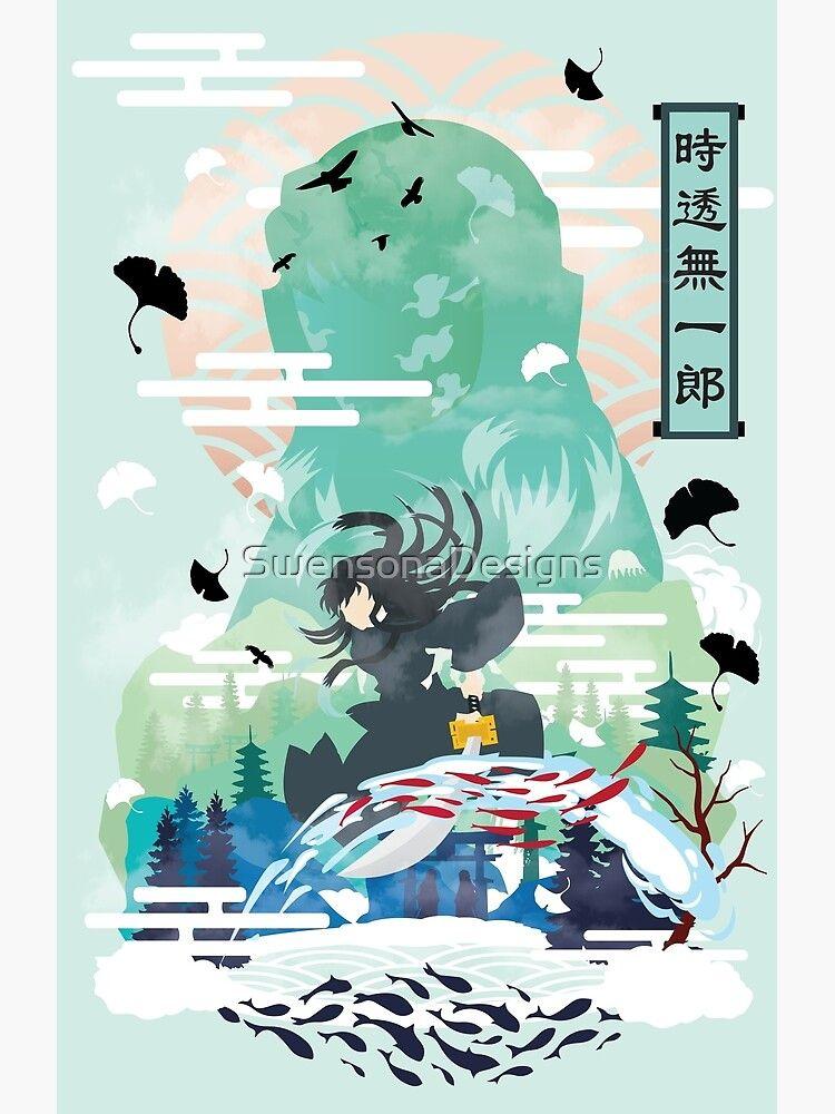 Muichiro Tokito Negative Space Poster By Swensonadesigns In 2021 Anime Demon Slayer Anime Anime Wallpaper
