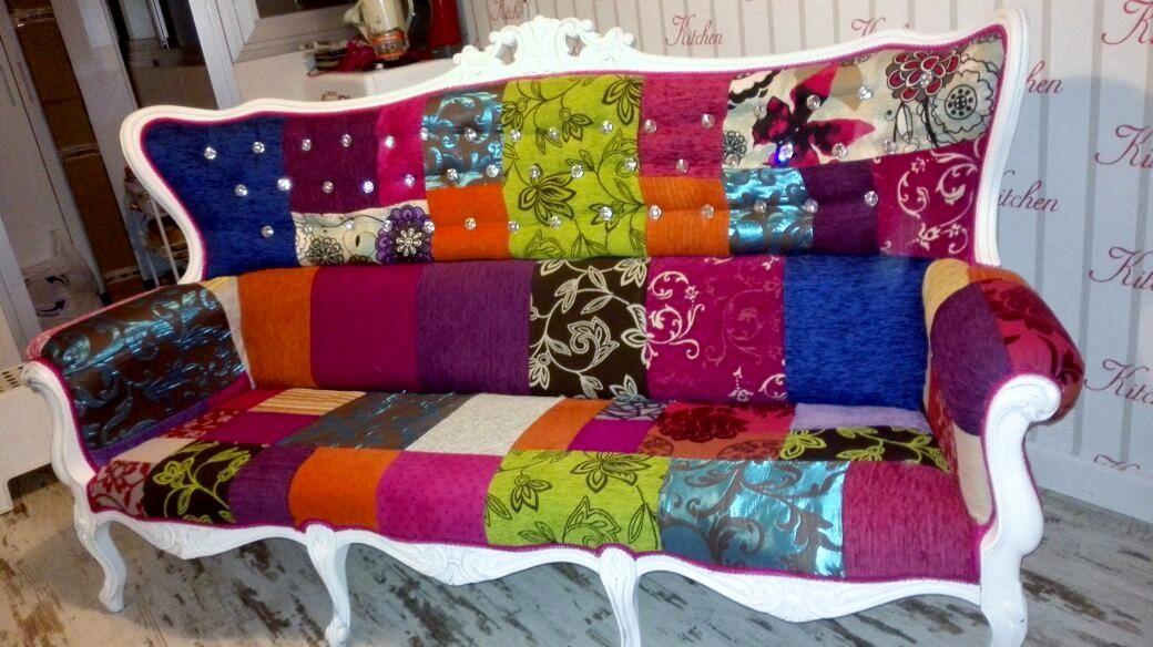 Divine divan patchwork en for Sillas milanuncios