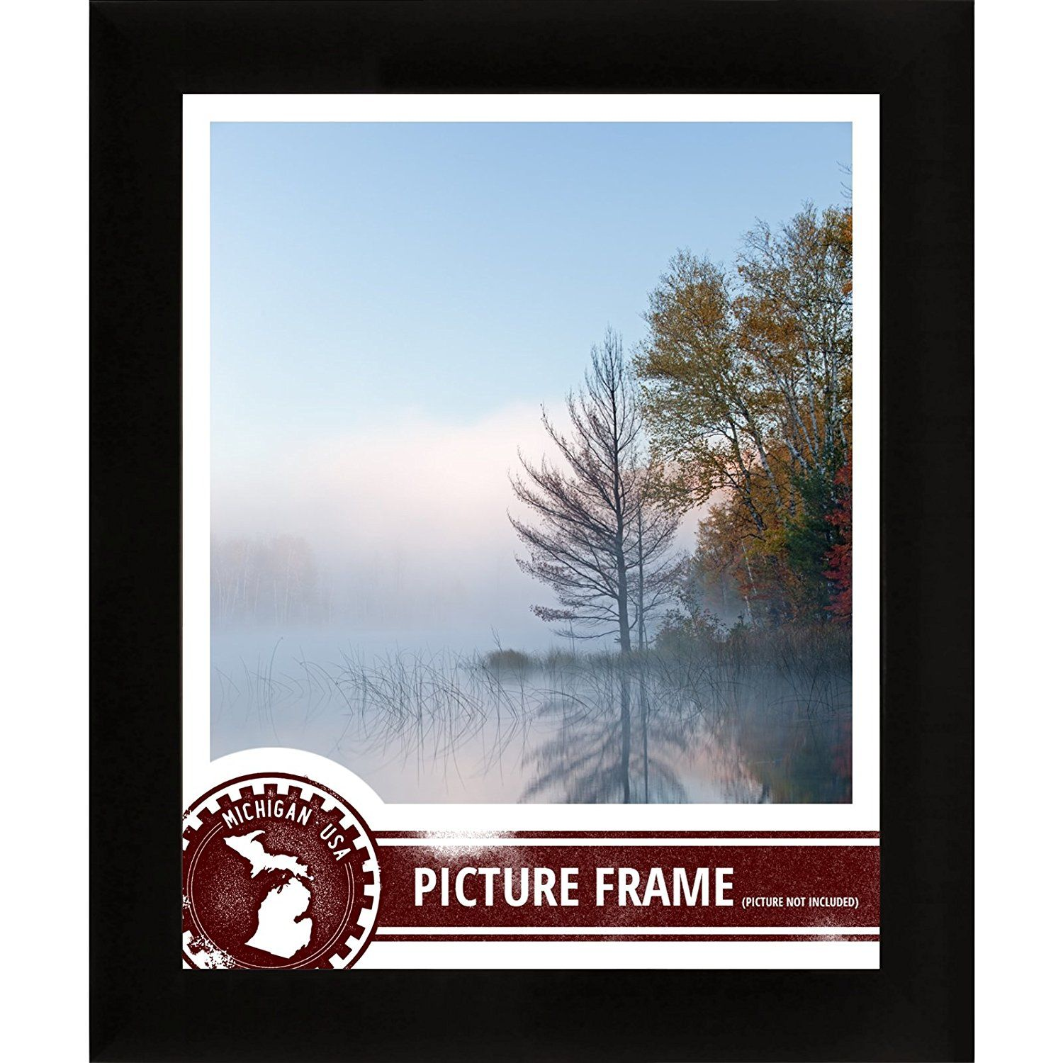1 Wide Amazoncom Craig Frames 1wb3bk 18 By 24 Inch Picture Frame