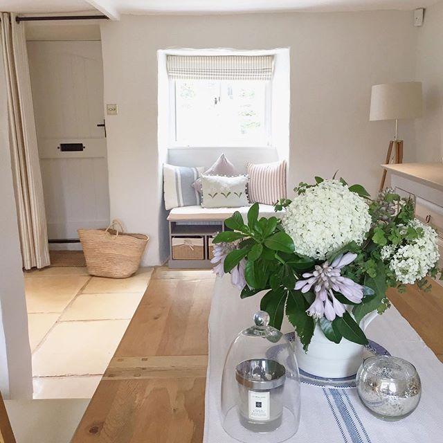 Country Cottageinterior Design Ideas: Flowers From The Garden To Brighten Up My Monday