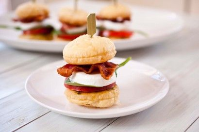 Caprese Sliders....perfect for summer