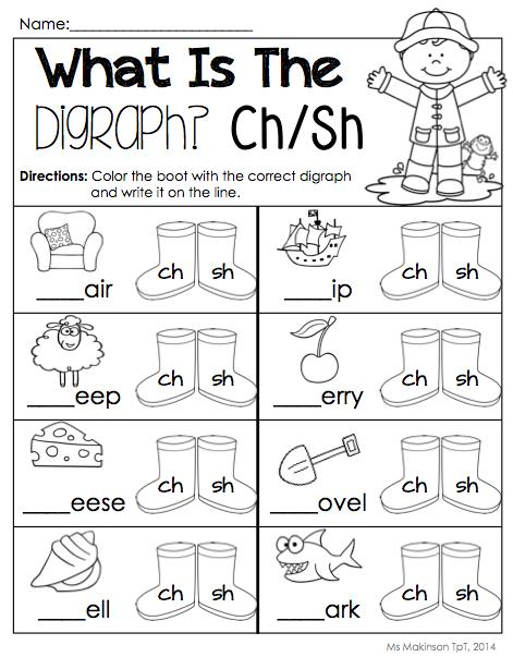 April Printables Kindergarten Literacy And Math Literacy