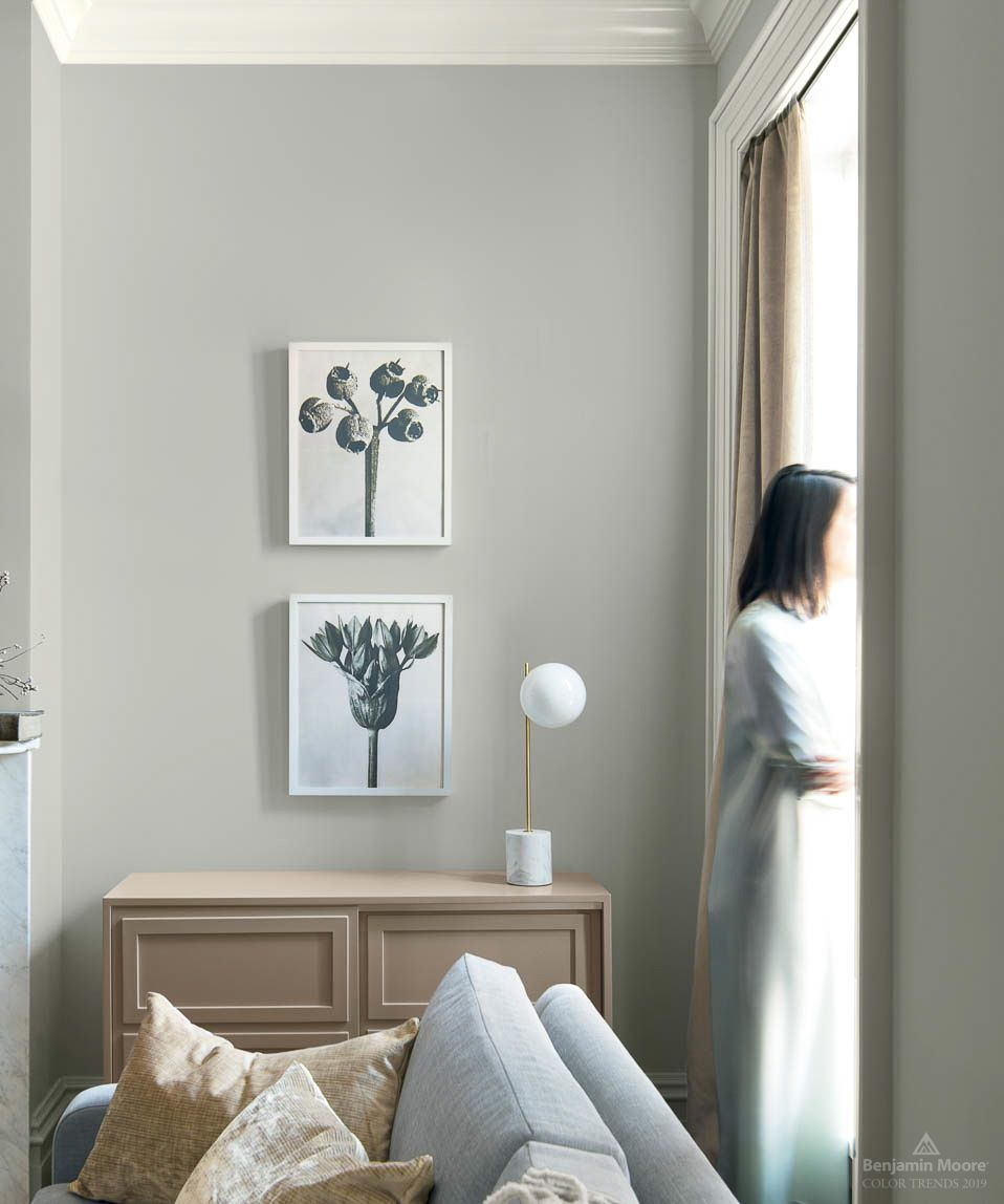 Benjamin Moore Colors For Your Living Room Decor: Color Trends & Color Of The Year 2019
