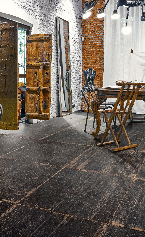 Blendart dark - 90 x 90 cm Vintage wood tile   HOLZFLIESEN / WOOD ...