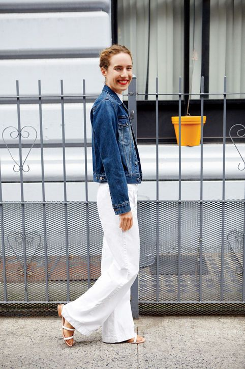 3abe645a18a 8 Denim Outfit Ideas to Take You From Summer to Fall