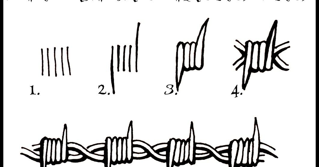 dorable bob wire stencil embellishment simple wiring diagram barbed wire vector diagram beautiful tribal barbed wire drawings frieze simple wiring diagram