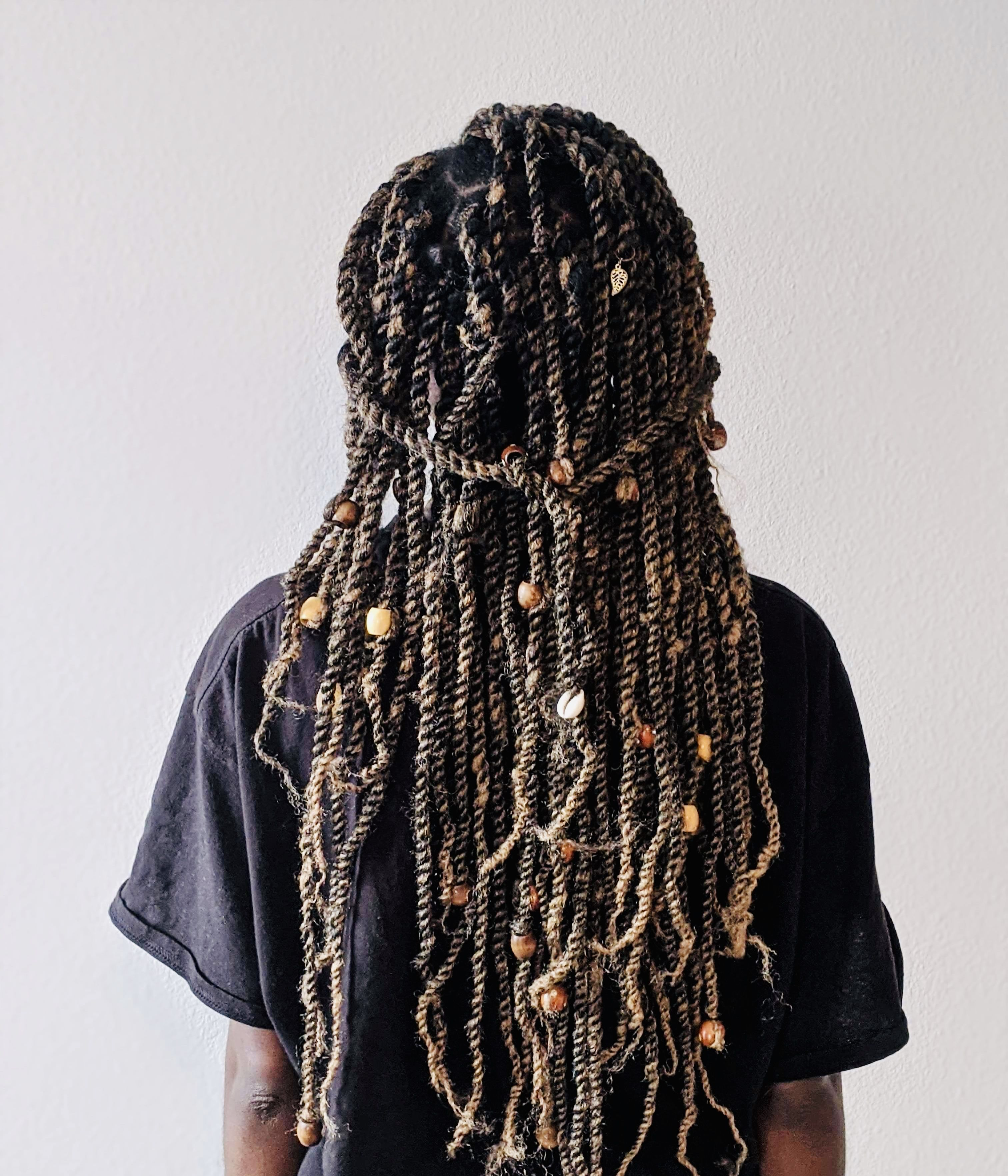 21+ Senegalese twists with beads trends