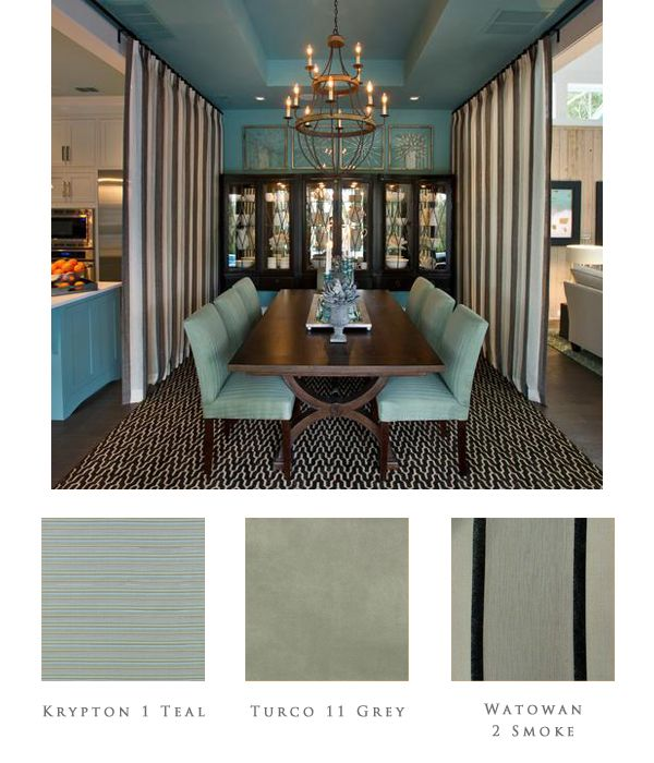 The Hgtv Smarthome Dining Room Is A Cool Teal Matched With A Cool Hgtv Dining Rooms Review