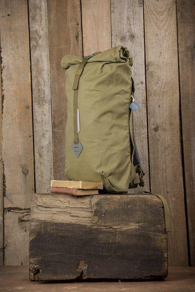 khaki Rucksack - Millican Smith The Roll Pack 18L - Moss - The Priory 9e6046e651b97