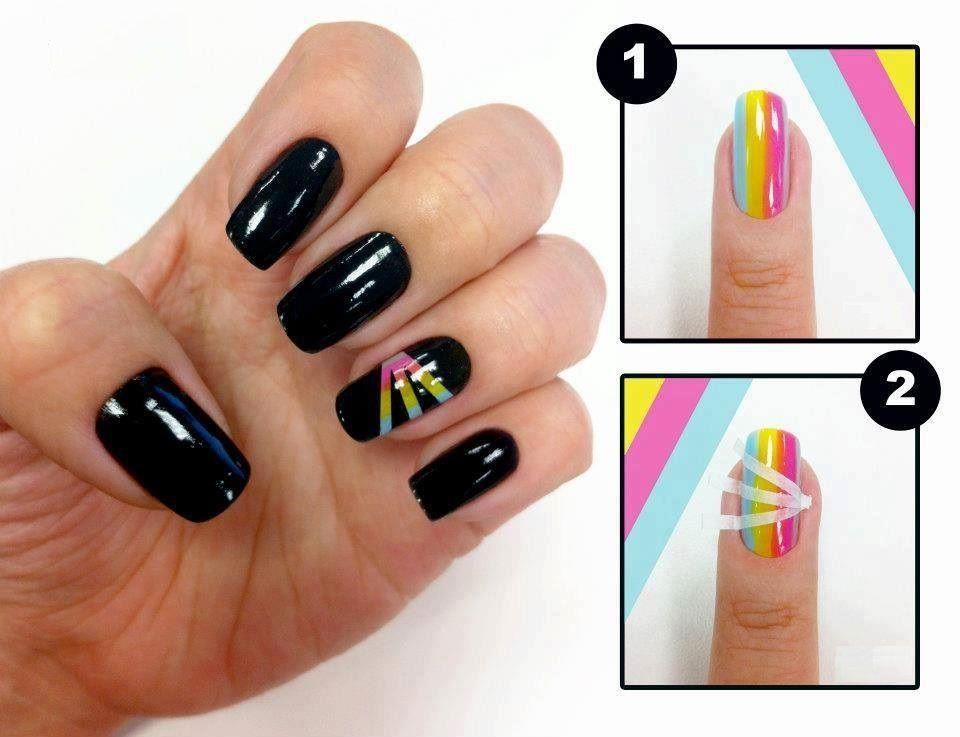 Diseño de Uñas Fáciles | Diseños de uñas, Encontrado y Diseños de ...