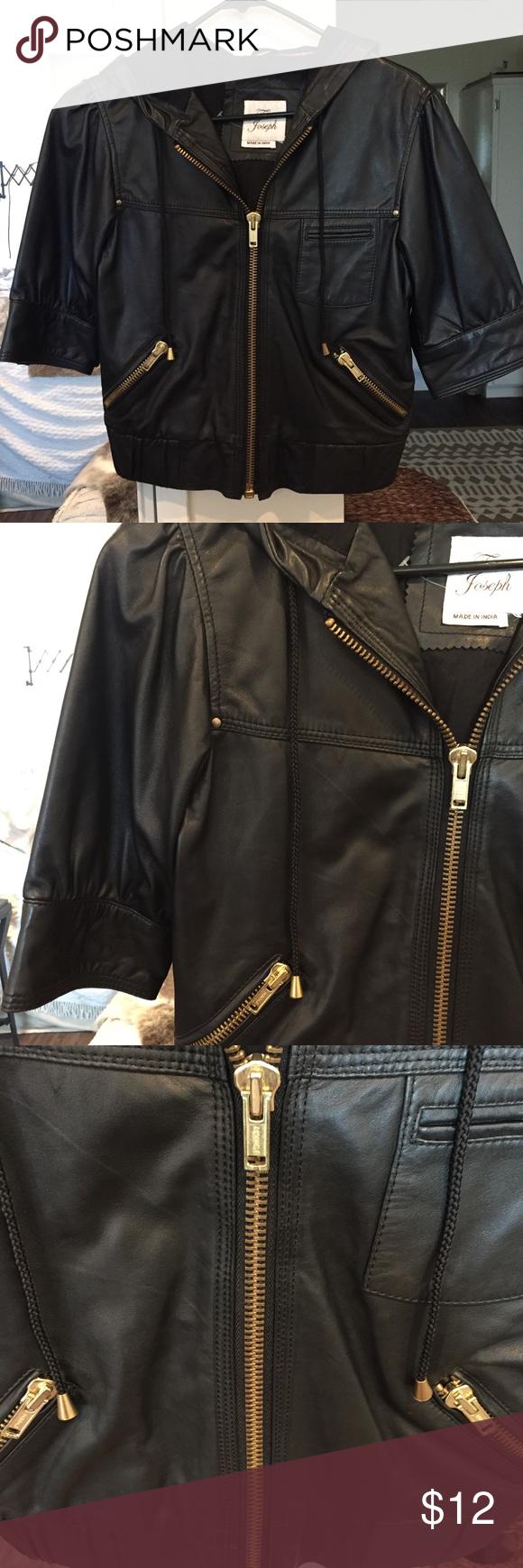 Genuine Leather jacket Soft genuine leather jacket with